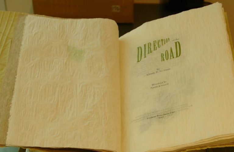 50 Features of Special Collections: Direction of the Road, Artist's books