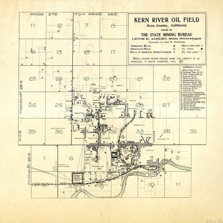 50 Features of Special Collections: Early Oil Fields of Kern County, California