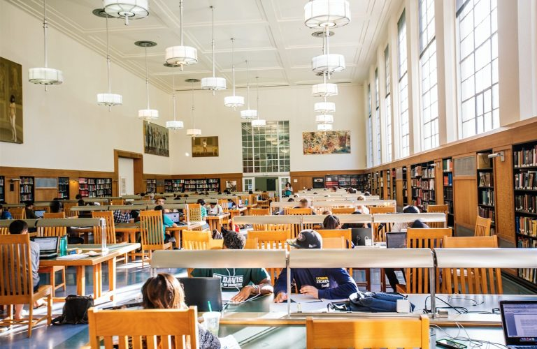 Shields Library featured twice in Best of Davis 2017