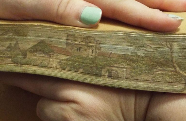 50 Features of Special Collections: Fore-edge Paintings