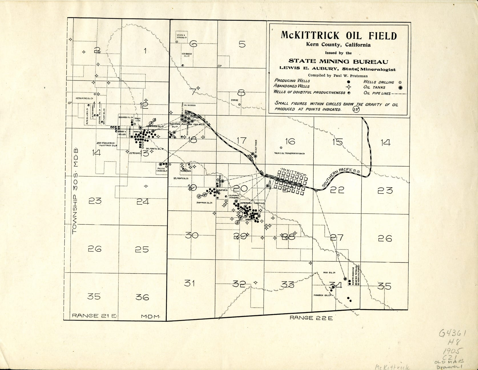 50 Features of Special Collections: Early Oil Fields of Kern