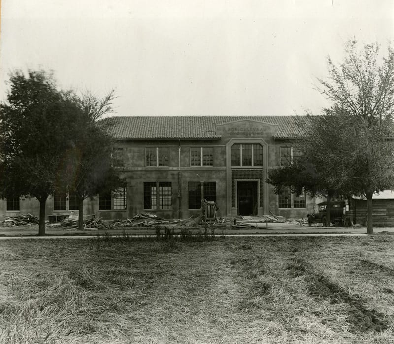 Agricultural Engineering Building, April 18, 1927.