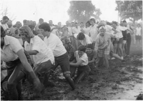 Frosh-Soph Brawl, 1958.