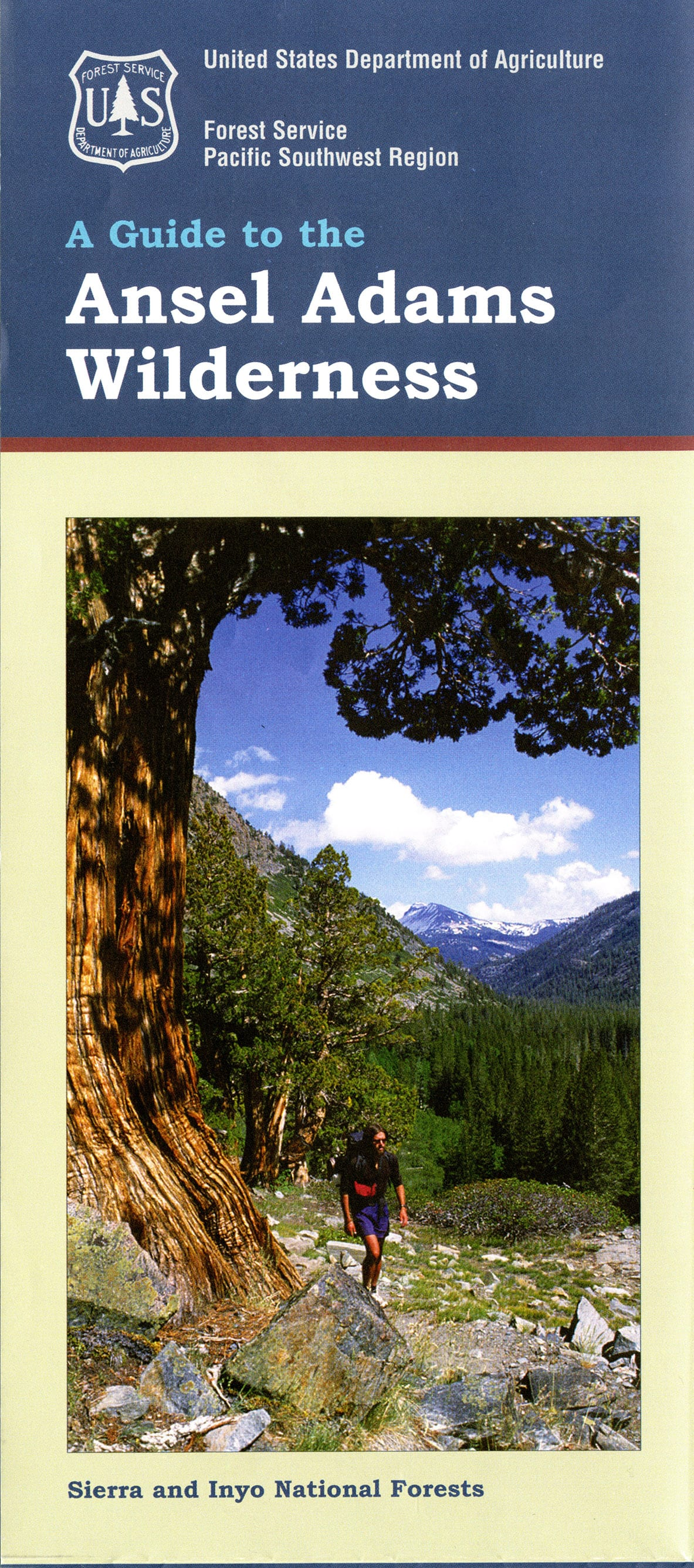 Features For Special Collections Outdoor Recreation  USDA - Map of us national forest