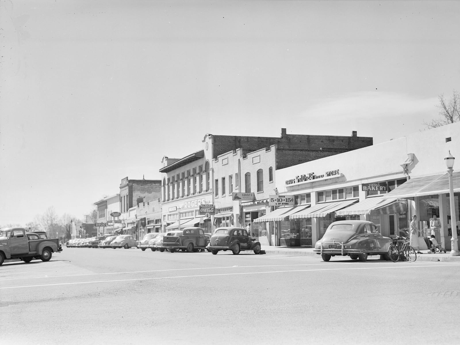G Street, looking south, 1951