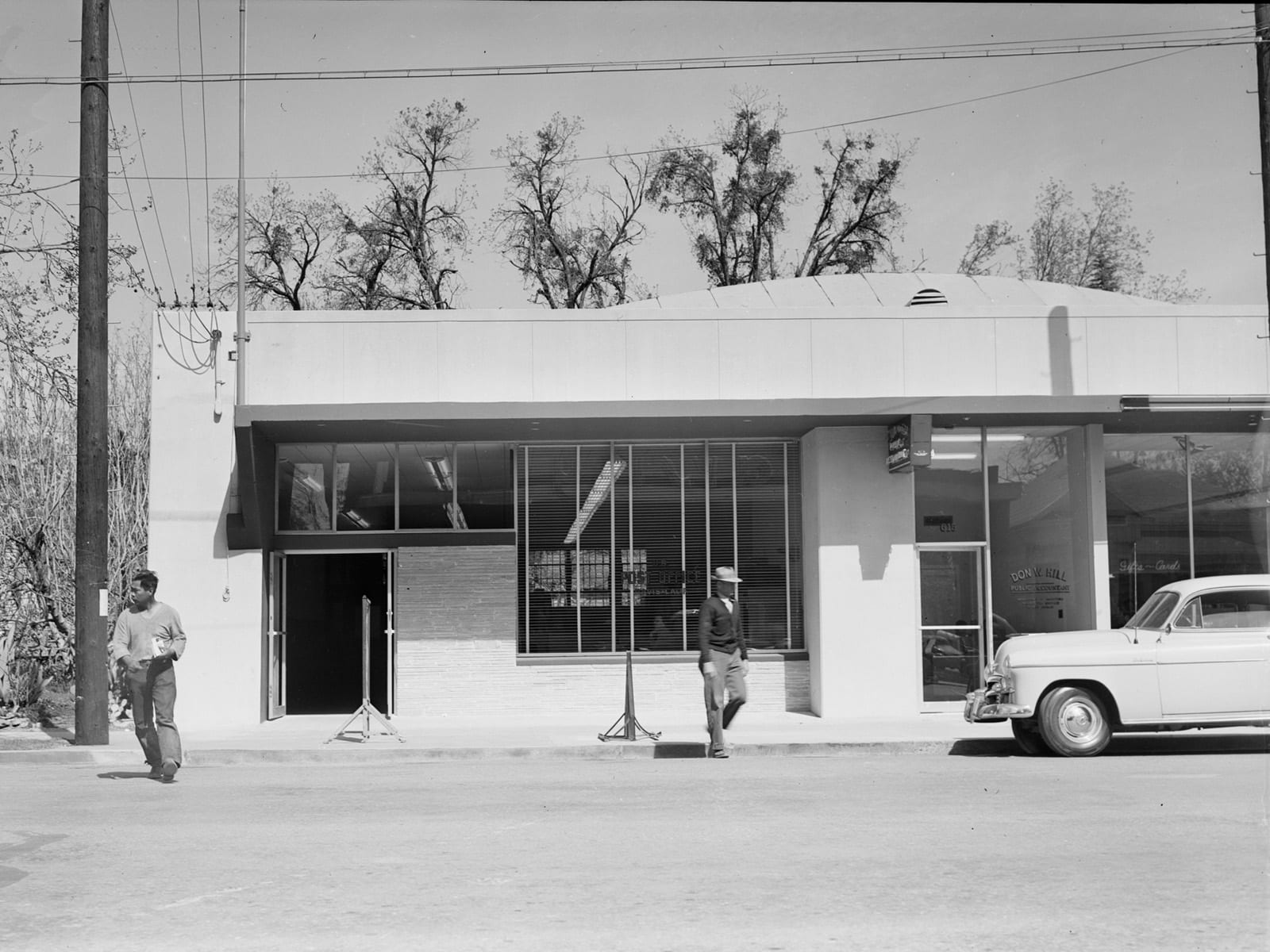 Post Office, Second Street, 1951
