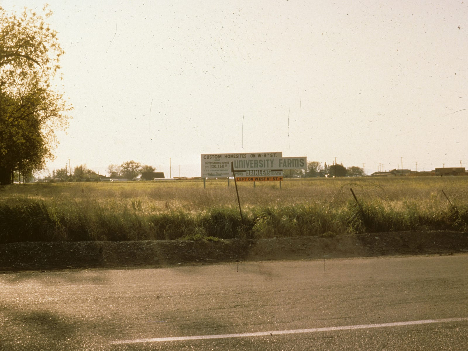The corner of Russell Boulevard and Anderson Road, circa 1960-1965