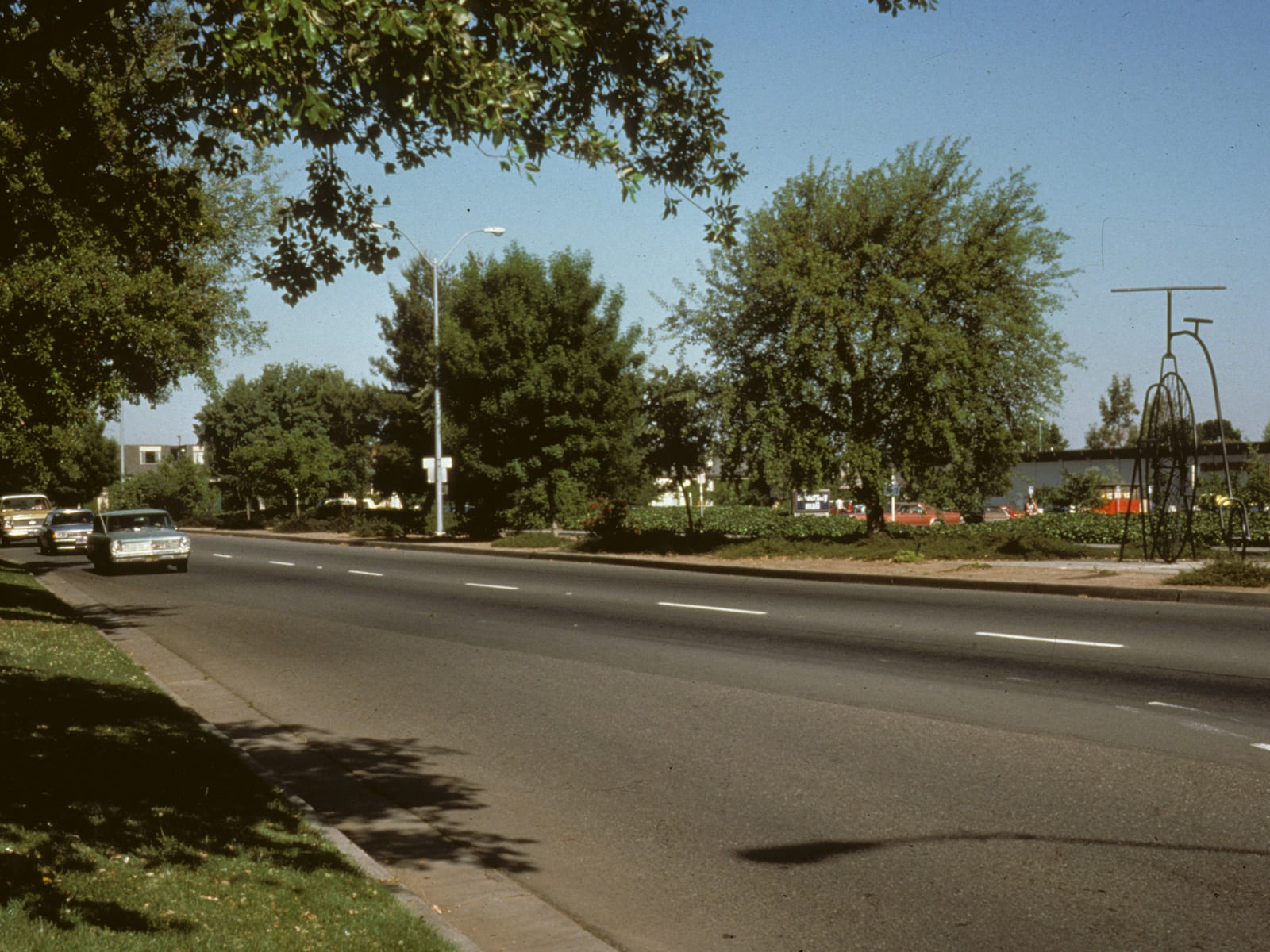 Russell Boulevard, reconstructed, circa 1976