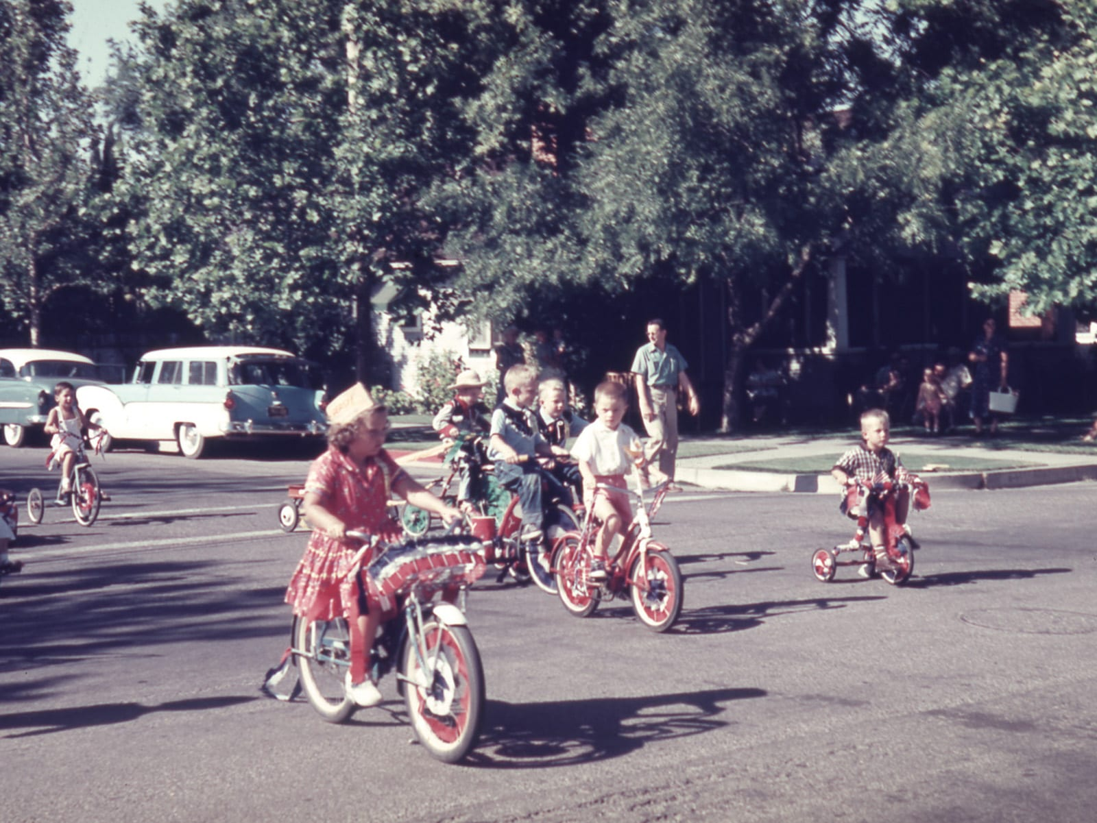 Davis Fourth of July Parade and Picnic, July 4, 1955