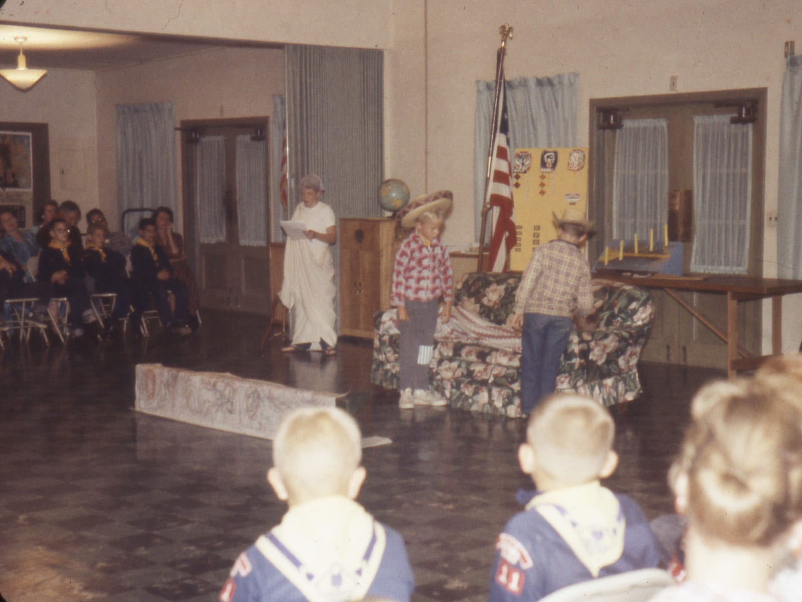 Cub Scout pack meeting, September 1959