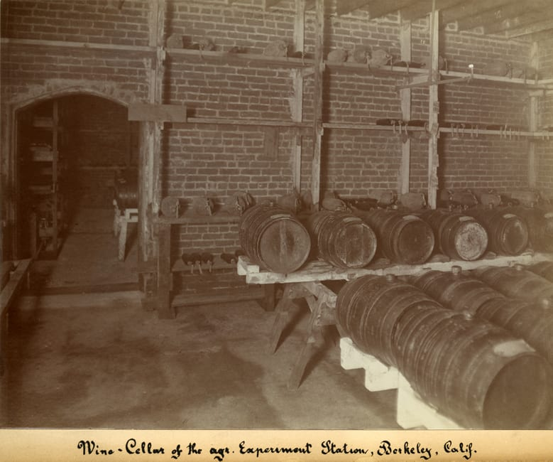 Wine Cellar of the Agricultural Experiment Station, Berkeley, CA