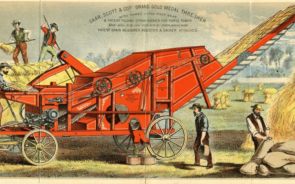 Higgins Collection, D-056 Gaar, Scott and Co.; Grand Gold Medal Thresher