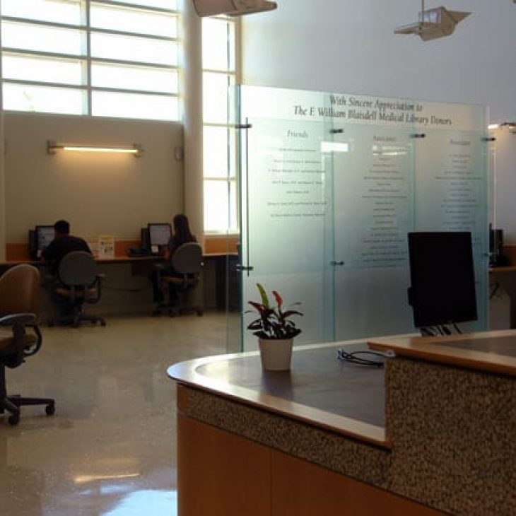 Blaisdell Medical Library Reference