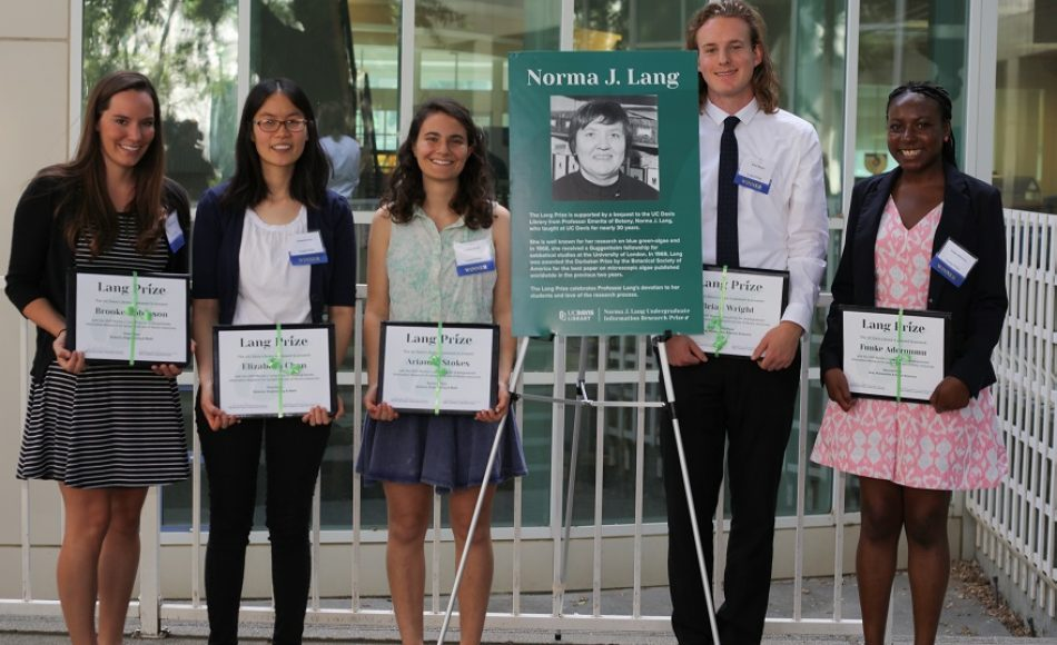 Lang Prize: Celebrating Undergraduate Library Research