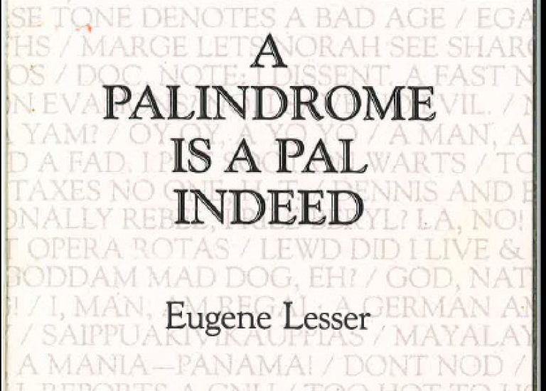 It's Palindrome Week