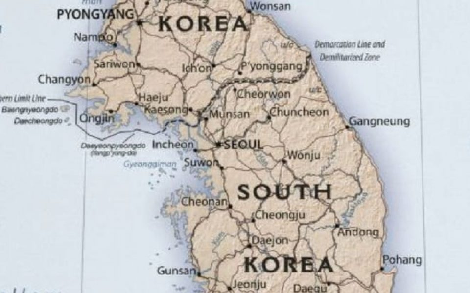Featured Maps! Theme for the Week- Korea
