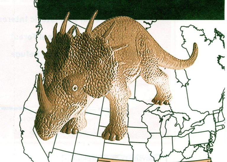 Featured Maps! Theme for the week — Dinosaurs and Fossils Thumbnail