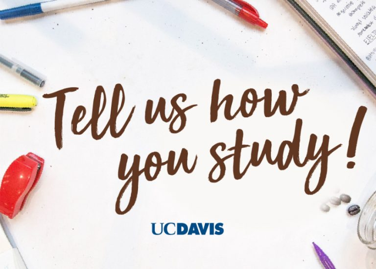 Tell us how you study!