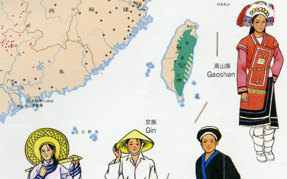 Featured Maps! Autonomous Areas and Disputed Territories of China on