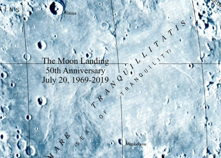 Featured Maps!  50th Anniversary Moon Landing Thumbnail