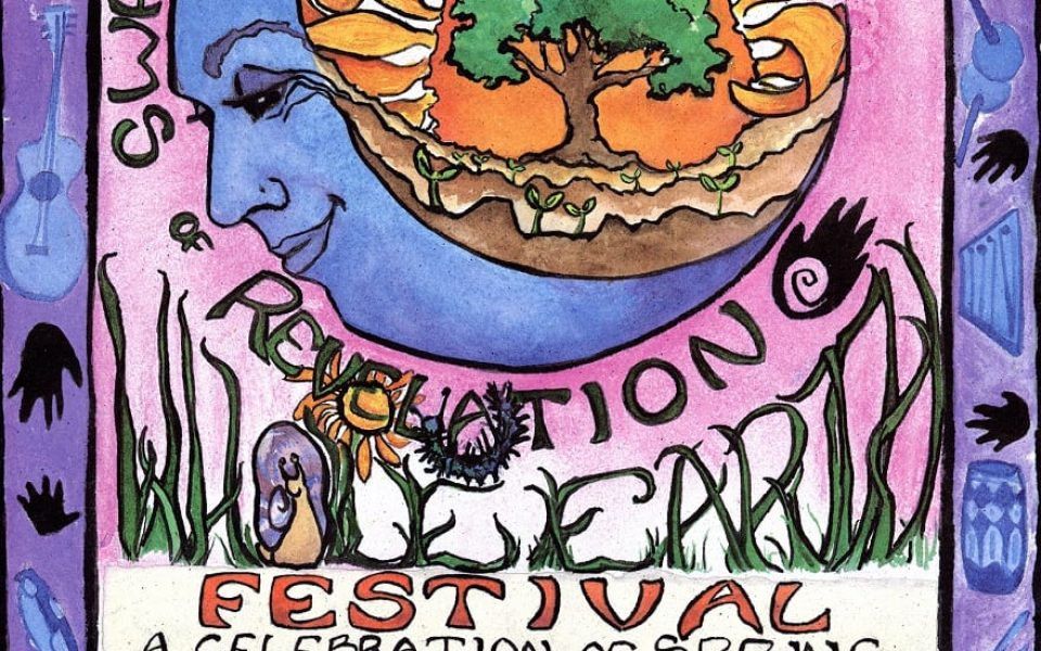 1994 Whole Earth Festival poster (Archives and Special Collections/UC Davis Library)