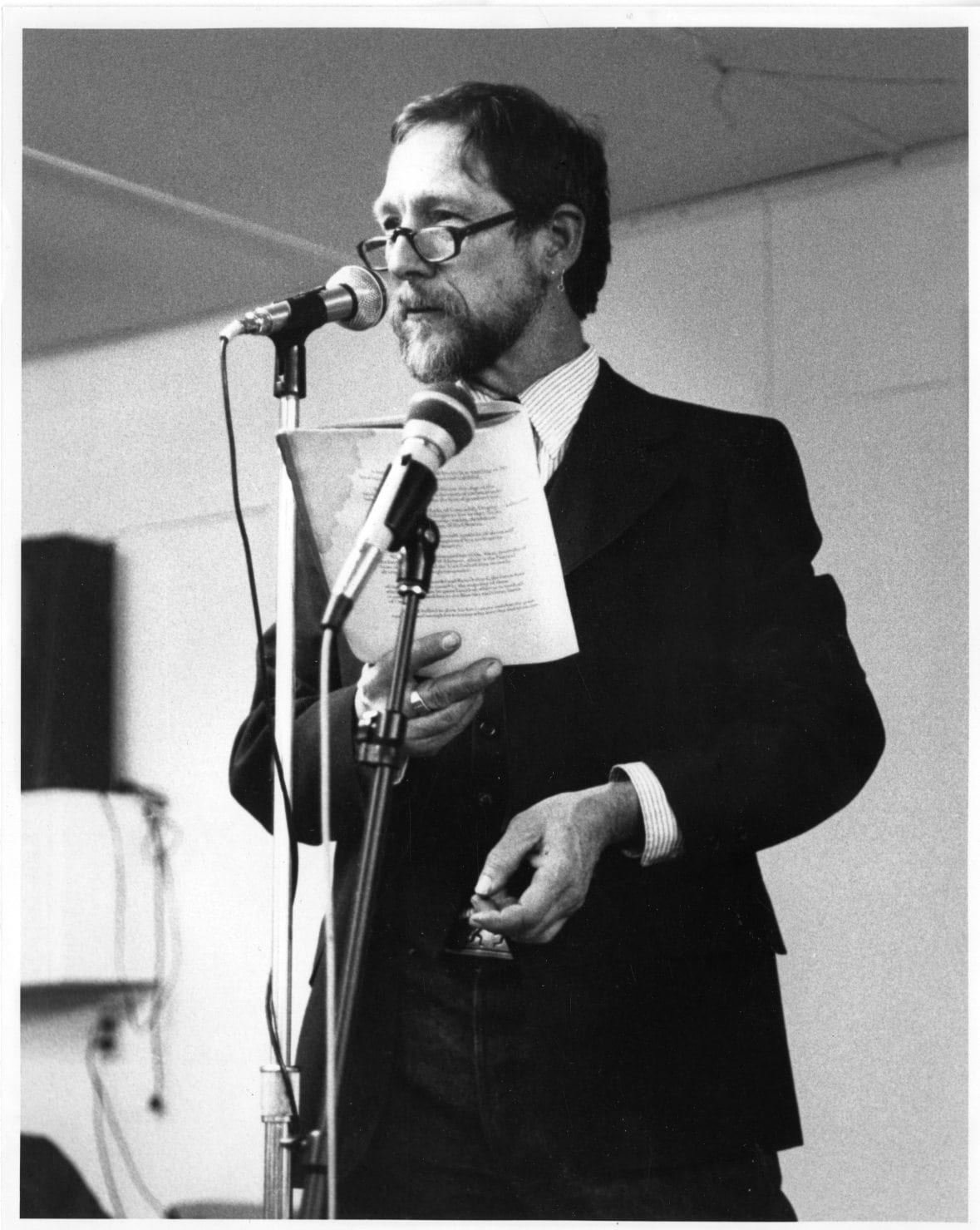 Gary Snyder, undated image from D-050 Gary Snyder Papers.