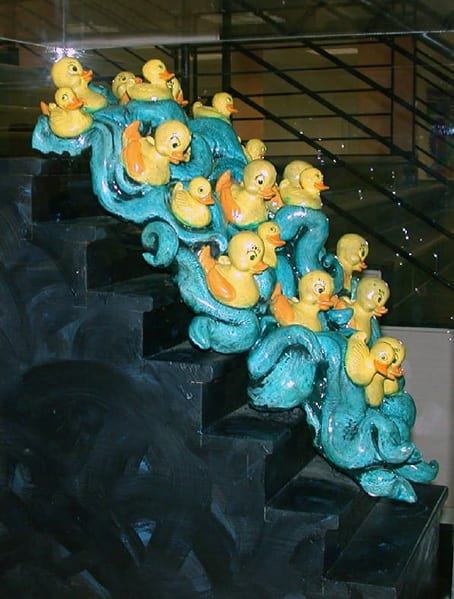 Ducks Descending Staircase