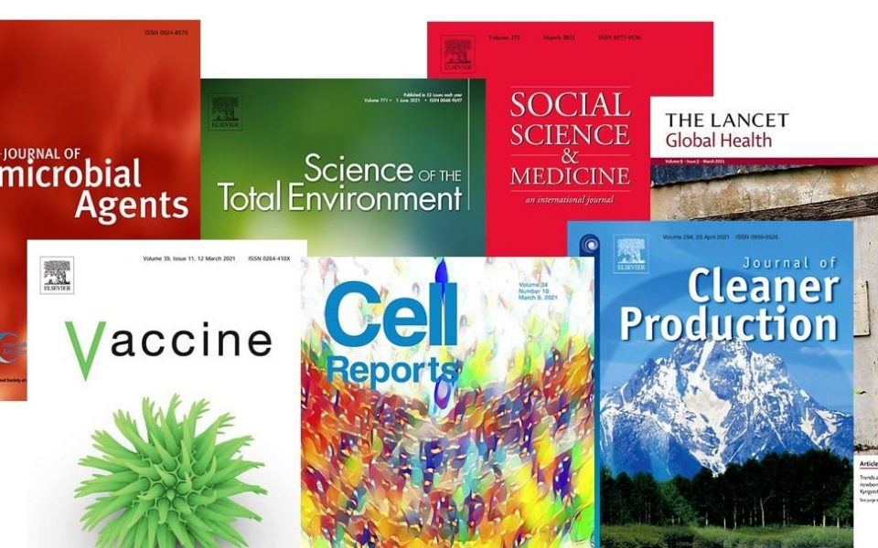 Journal cover images courtesy of Elsevier