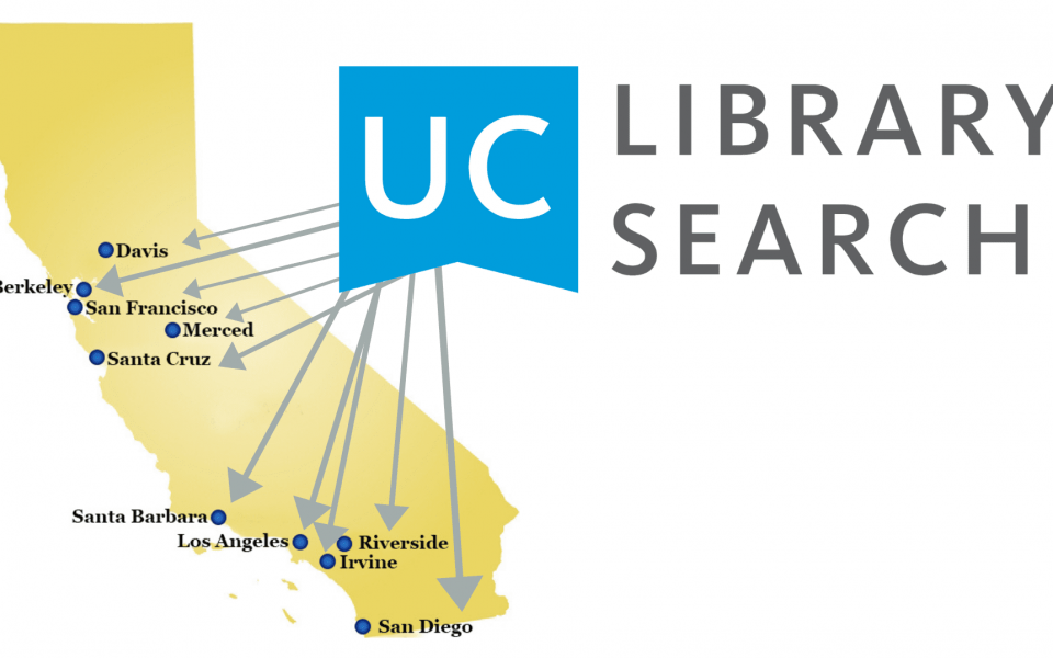 On July 27, 2021, UC Library Search will bring all UC campus libraries into the same online catalog.