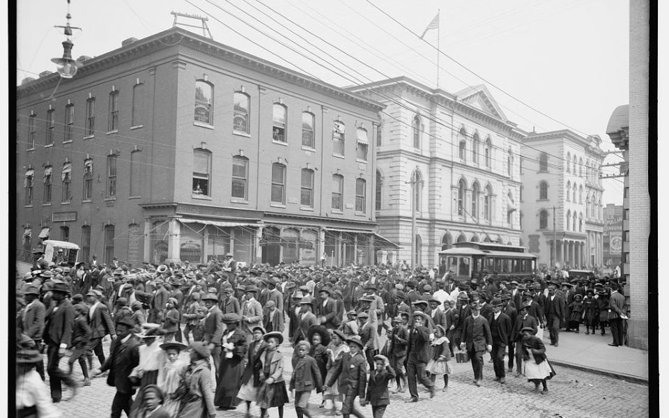 Emancipation Day, Richmond, Va. 1905 (Glover, L. S. (Lycurgus S.), 1858-1935 ) From Library of Congress.